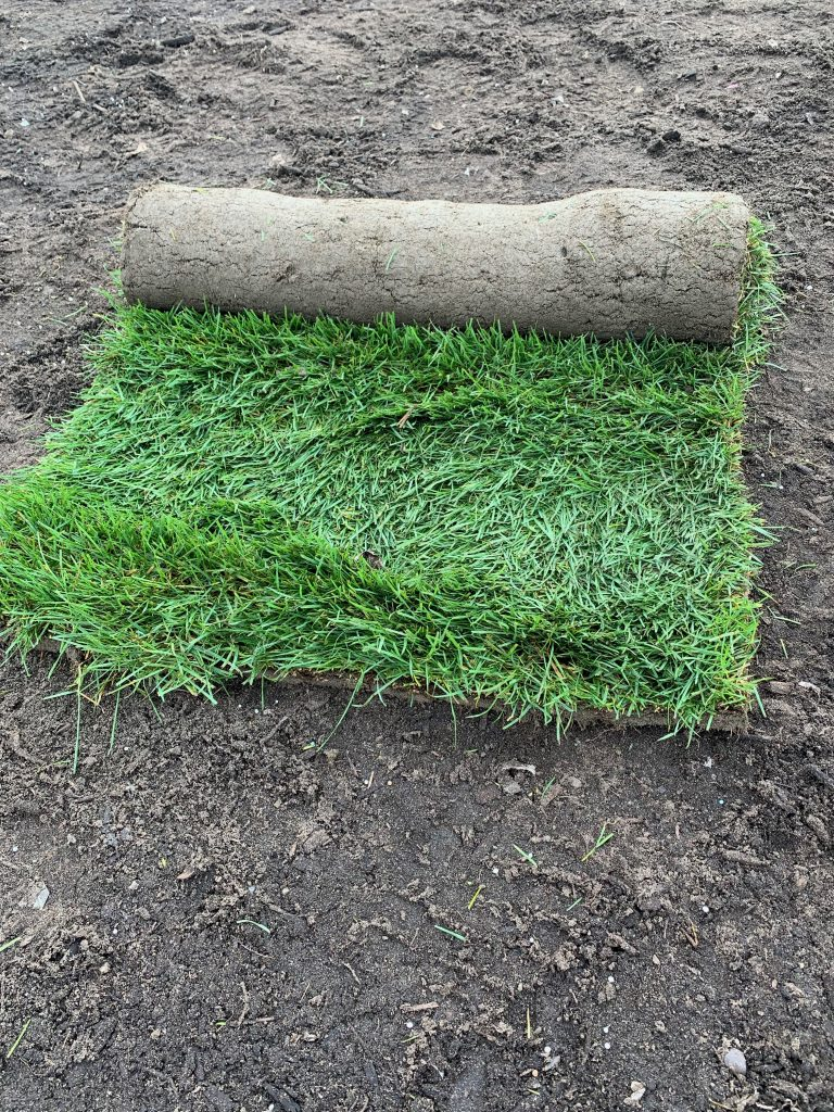 sod roll weight and size