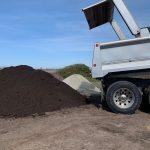 Turf blend lawn top soil bulk delivery