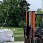 bagged landscape materials
